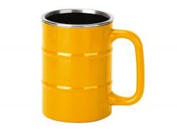 Кружка Баррель желтая