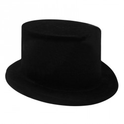 Шляпа Детская цилиндр флок