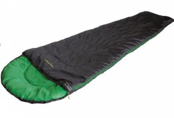 Спальный мешок High Peak Easy Travel / +5°C (Left) Black/green