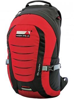 Рюкзак городской High Peak Climax 14 (Red/Dark gray)