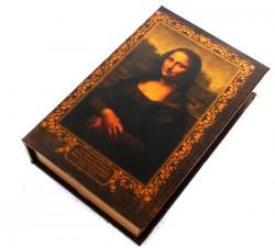Книга шкатулка Джоконда