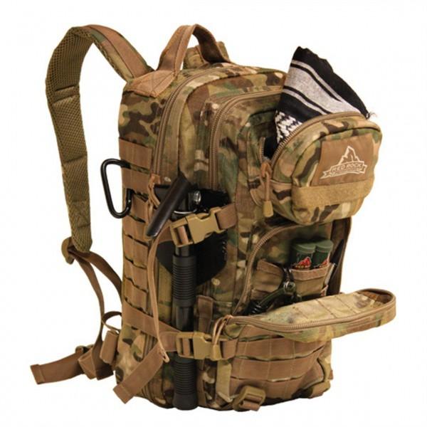 Рюкзак тактический Red Rock Assault 28 (Standard Woodland)
