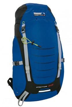 Рюкзак туристический High Peak Factor 32 (Blue/Dark Grey)