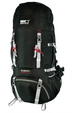 Рюкзак туристический High Peak Sherpa 55+10 (Black)