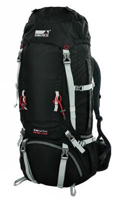 Рюкзак туристический High Peak Zenith 55+10 (Black)
