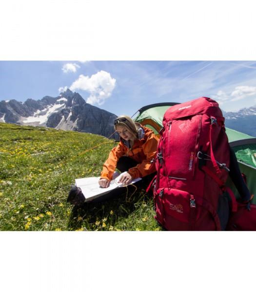 Рюкзак туристический Vango Sherpa 60+10 Lava Red