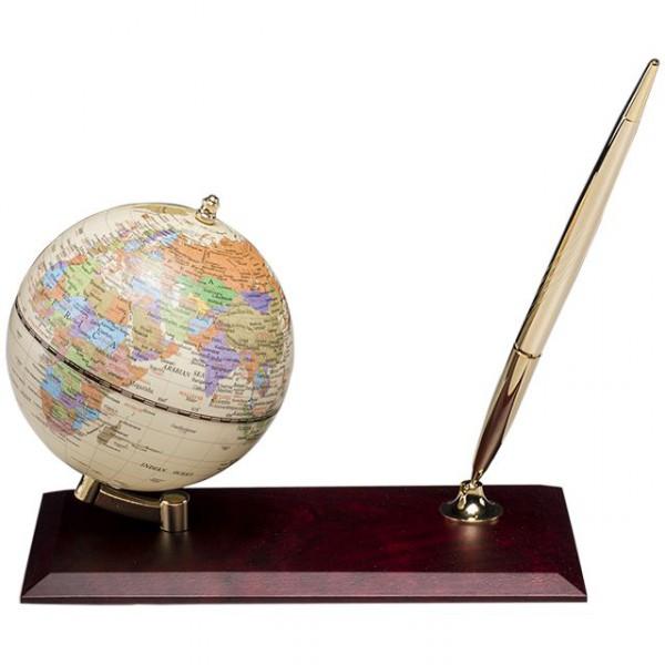 Глобус настольный с ручкой 0910WDM