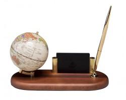 Настольная подставка Глобус настольный с ручкой 0930HDV